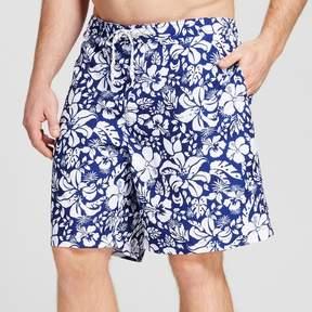 Merona Men's Big & Tall Floral Print Swim Trunks