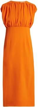 Emilia Wickstead Macy stretch-crepe dress