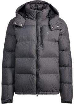 Ralph Lauren Quilted Ripstop Down Jacket Windsor Heather S