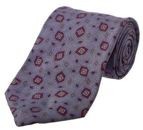 Chanel Grey Silk Tie.