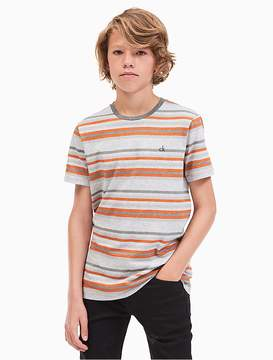 Calvin Klein Jeans Boys Multi Stripe T-Shirt