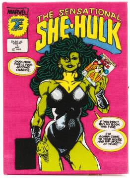 Olympia Le-Tan The Sensational She-Hulk clutch