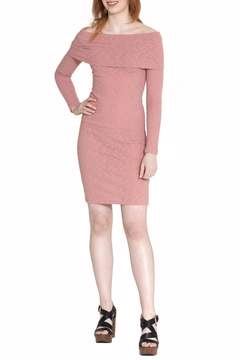 Cherish Off-Shoulder Bodycon Dress