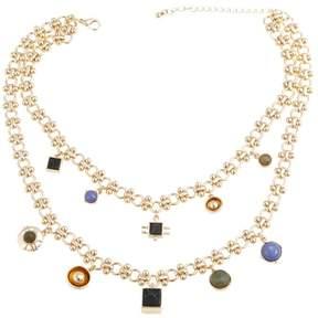 Danielle Nicole Johannes Gem-Color Dangle 14-3/4 Necklace