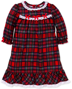Little Me Plaid Nightgown, Baby Girls (0-24 months)