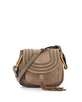 Chloé Hudson Small Suede Shoulder Bag