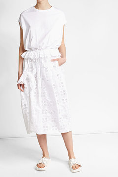 Simone Rocha Perforated Leather Sandals