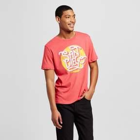 Awake Men's San Diego Scrolls T-Shirt - Red