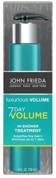 John Frieda Luxurious Volume 7 Day Volume In-Shower Treatment - 4oz