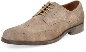 Rush by Gordon Rush Men's Drake Leather Brogue Derby Shoe