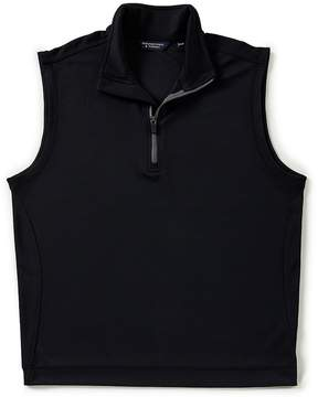 Roundtree & Yorke Quarter Zip Sweater Vest