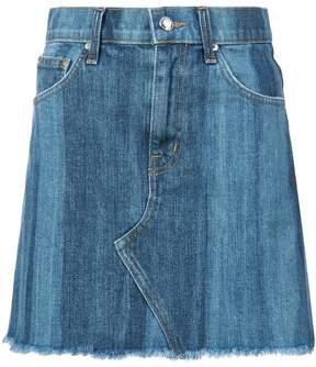 Derek Lam 10 Crosby Cleo Mini Skirt Medium Pinto