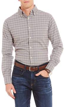 Daniel Cremieux Slim-Fit Check Oxford Long-Sleeve Woven Shirt