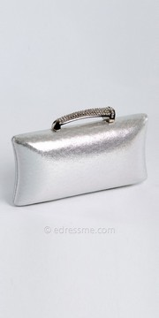 Camille La Vie Shimmer Box Bag with Stone Handle