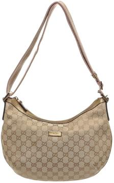Gucci Hobo leather travel bag - MULTICOLOUR - STYLE