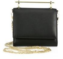 M2Malletier Cabiria Leather Chain Wallet
