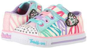 Skechers Twinkle Toes - Shuffles 10772N Lights Girl's Shoes