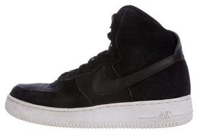 Nike Boys' Suede Air Force One Sneakers