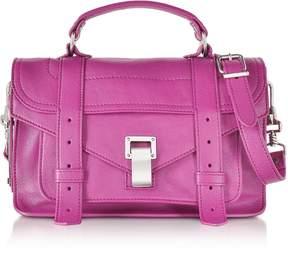 Proenza Schouler PS1 Tiny Berry Lux Leather Satchel Bag