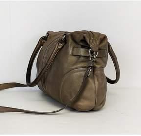 Botkier Metallic Beige Bag w/ Studs