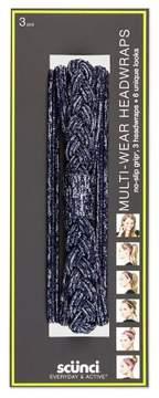 Scunci Multi-Wear Headwraps - 3pk
