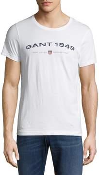 Gant Men's Crewneck Cotton T-Shirt