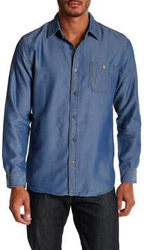 Weatherproof Denim Jacquard Dobby Woven Regular Fit Shirt