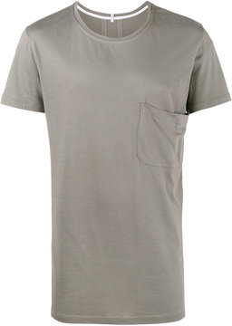Lot 78 Lot78 Grey Pocket Crew Tee