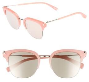 Elizabeth and James Women's Burke 52Mm Horn Rimmed Sunglasses - Bubblegum