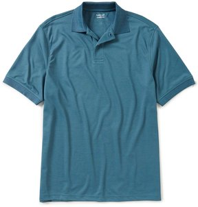 Roundtree & Yorke Travel Smart Big & Tall Short-Sleeve Polo