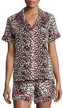 BedHead Wild Thing Printed Shorty Pajama Set, Leopard