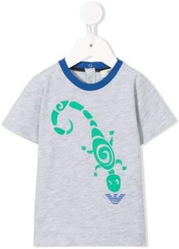 Emporio Armani Kids scorpion print T-shirt