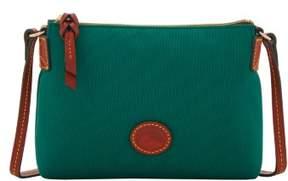 Dooney & Bourke Nylon Crossbody Pouchette Shoulder Bag - LEAF - STYLE