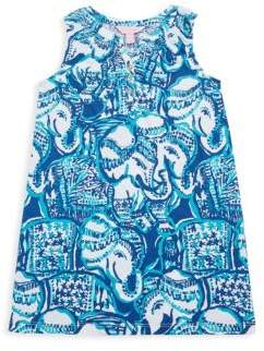 Lilly Pulitzer Little Girl's & Girl's Mini Essie Cotton Dress