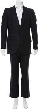 Bottega Veneta Wool Pinstripe Suit