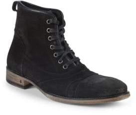 John Varvatos Fleetwood Suede Boots