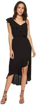 1 STATE 1.STATE Spaghetti Strap Ruffled High-Low Dress Women's Dress