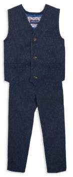 Andy & Evan Toddler's, Little Boy's & Boy's Vest and Pants Set