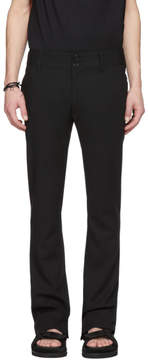 Ann Demeulemeester Black Waldo Trousers