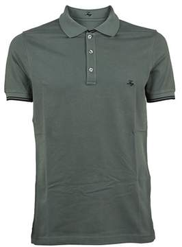 Fay Men's Npmb236134sit0v417 Green Cotton Polo Shirt.