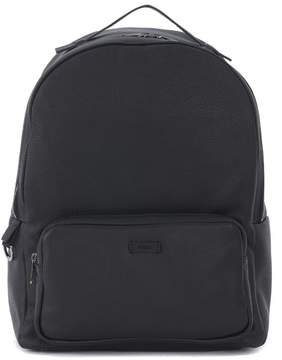 Furla Ulisse Black Soft Leather Backpack