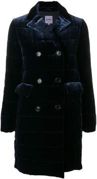 Aspesi velvet double breasted coat