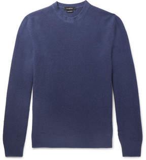 Ermenegildo Zegna Waffle-Knit Cashmere Sweater