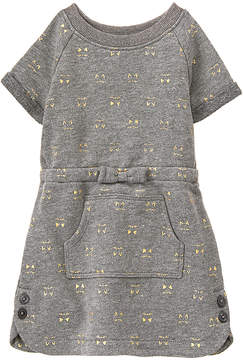 Gymboree Gray Cat Face Dress - Infant & Toddler