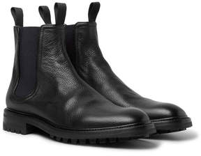Rag & Bone Spencer Pebble-Grain Leather Chelsea Boots