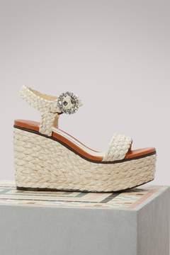 Jimmy Choo Nylah 100 sandals