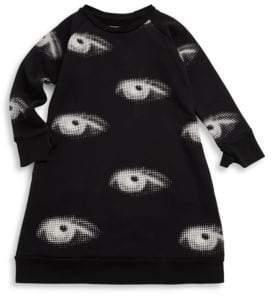 Nununu Little Girl's Eye Cotton Dress