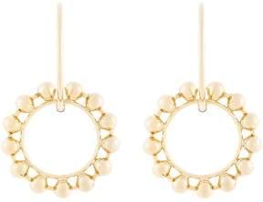 Dannijo Fawn double hoop earrings