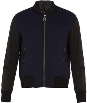 Lanvin Wool-blend bomber jacket
