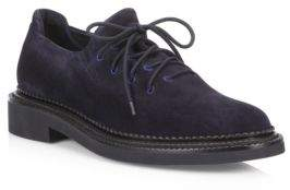 Giorgio Armani Lace-Up Suede Derbys